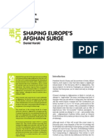 SHAPING EUROPE'S AFGHAN SURGE