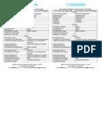 Equivalencias Planes de Profesorado y Psicolog+¡a