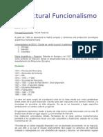 Estructural Funcionalismo - UNR FCE - Priotti