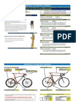Plantilla de Tallaje Bicicletas Mtb y Carretera