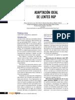 Adaptacion Lente Contacto Gas Permeable