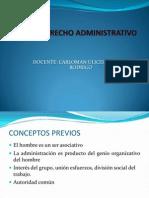 DERECHO ADMINISTRATIVO. clases UAP-Cañeteppt