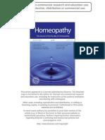 Lenger Bajpai Drexel Homeopathy