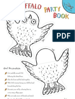 Gruff Party Book Template