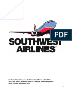 strategic audit southwest airlines - Southwest Airlines Ppt Template Free Download