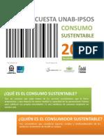 Encuesta Consumo Sustentable 2012