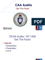 Government Contracting - DCAA Audits