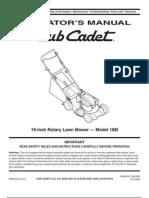 Cub Cadet Manual