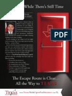 Texas Illinois Print Ad