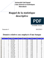 Cours Statistiques Descriptives