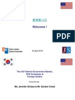 South Korea & The US Government Market
