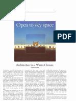 Correa - Architecture in a Warm Climate