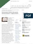 Bersani propone Marini al Colle, proteste davanti al Capranica