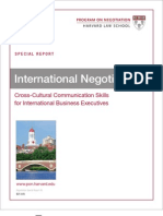 Harvard International Negotiation