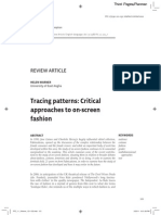 Tracing Patterns- Critical Approaches to On-Screen Fashion