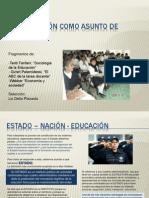 laeducacincomoasuntodeestado-090510210612-phpapp02