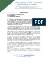Pronunciamiento Fettramap 17 de Abril