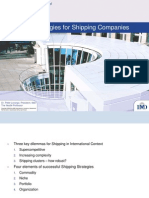 Effective Strategies for Shipping Companies