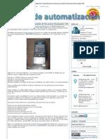 Notas de automatización_ Parametrización sencilla de un variador de frecuencia Micromaster 420