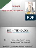 BIOTEKNOLOGI PANGAN