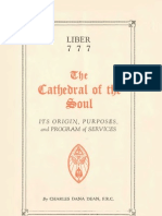 Liber 777. The Cathedral of the Soul (1934)