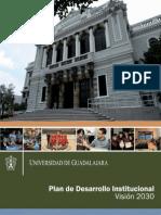 Universidad de Guadalajara - Plan de Desarrollo Institucional - Visión 2030