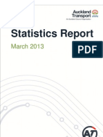 PT Statistics Report March 2013