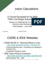 Sag-Tension Calculations Present