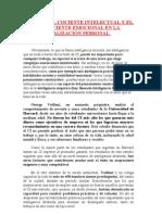 12 EL PESO DEL COCIENTE INTELECTUAL Y EL COEFICIENTE EMOCIONAL EN LA REALIZACIÓN PERSONAL