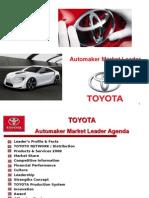 TOYOTA - Automaker Market Leader