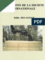 Institutions de la société internationale Rafaa ben achour