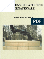 Institutions de la société internationale Rafaa ben achour