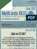 Meditando Ideas #12 Material
