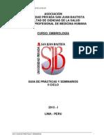 Guis Practica Embriologia