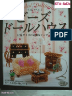 Revista (japonês) - Beaded doll house - 98 pag