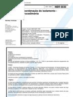NBR_6939-Coordenação_Isolamento