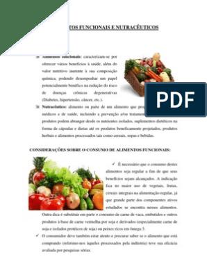 alimentos funcionais e nutraceuticos pdf
