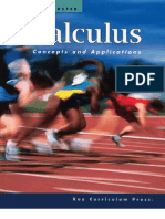 Calculus - Concepts and Applications - Foerster