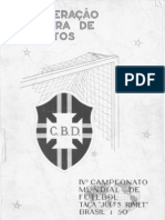 Relatorio Da Copa de 1950