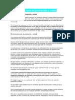 El informe de costo de producción y ventas