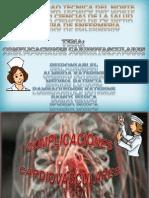 Complicaciones Cardiovasculares....!! TRABAJO COMPLETOO