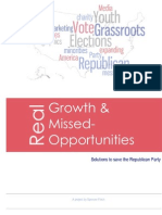 Real Growth and Missed-Oppurtunities