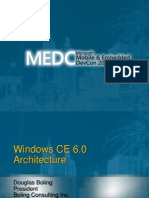 Windows CE6 Architecture Boling