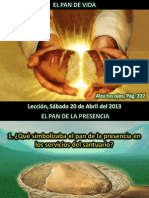 Lección 16 - El pan de vida