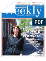 Moving Foward, Beverly Hills Weekly 707