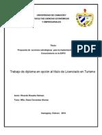 Propuesta de acciones estratégicas para la implantación de la Gestión del