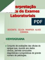 1 - INTERPRETAÇÃO BÁSICA DE EXAMES LABORATORIAIS