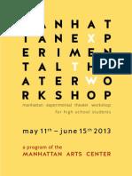 Manhattan Experimental Theater Workshop