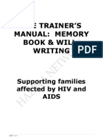 Trainer's Manual - Will Writing