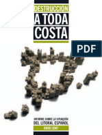 Informe de Greenpeace sobre la costa española